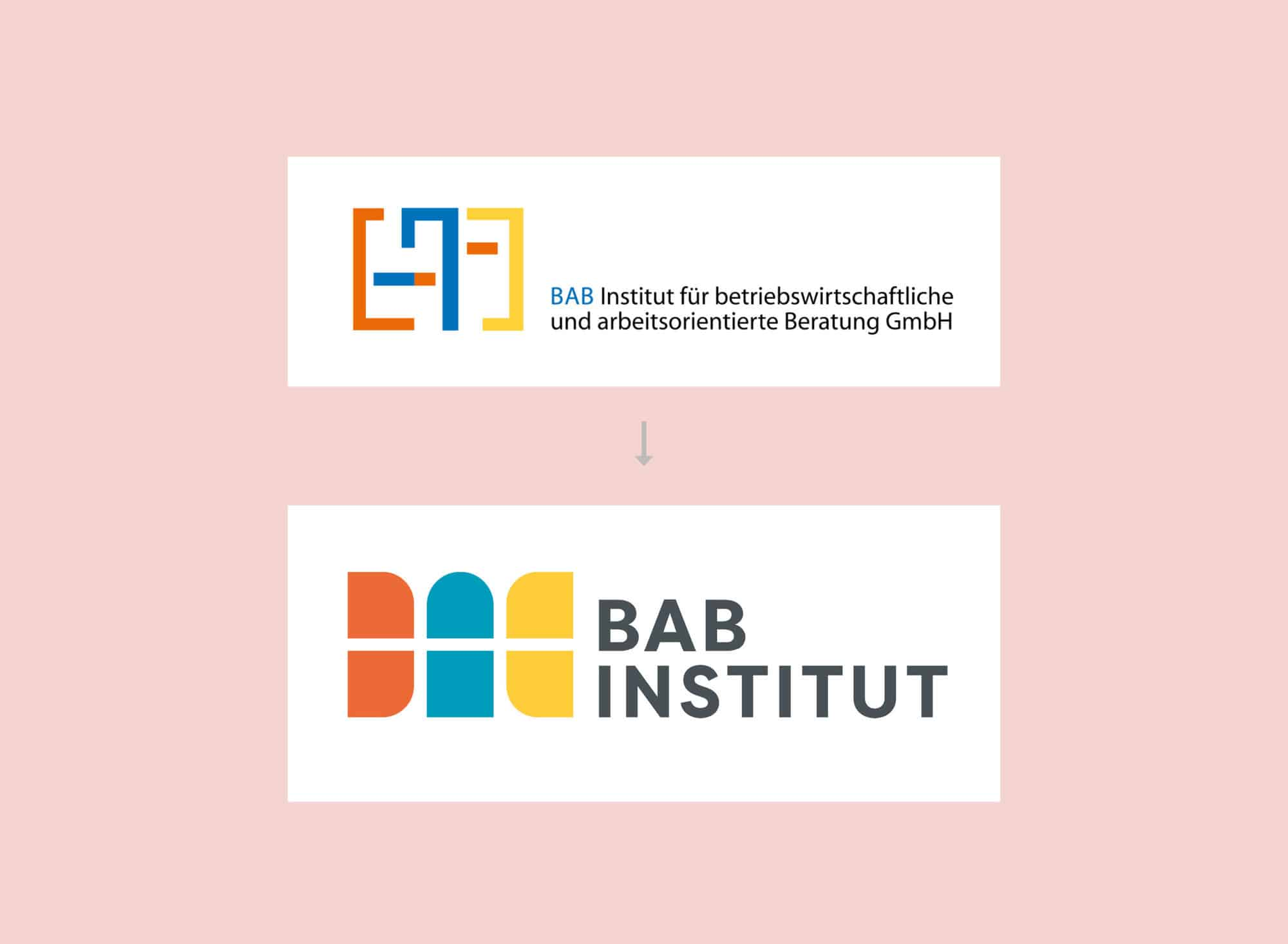 Logo Redesign BAB Institut Rubbeldiekatz