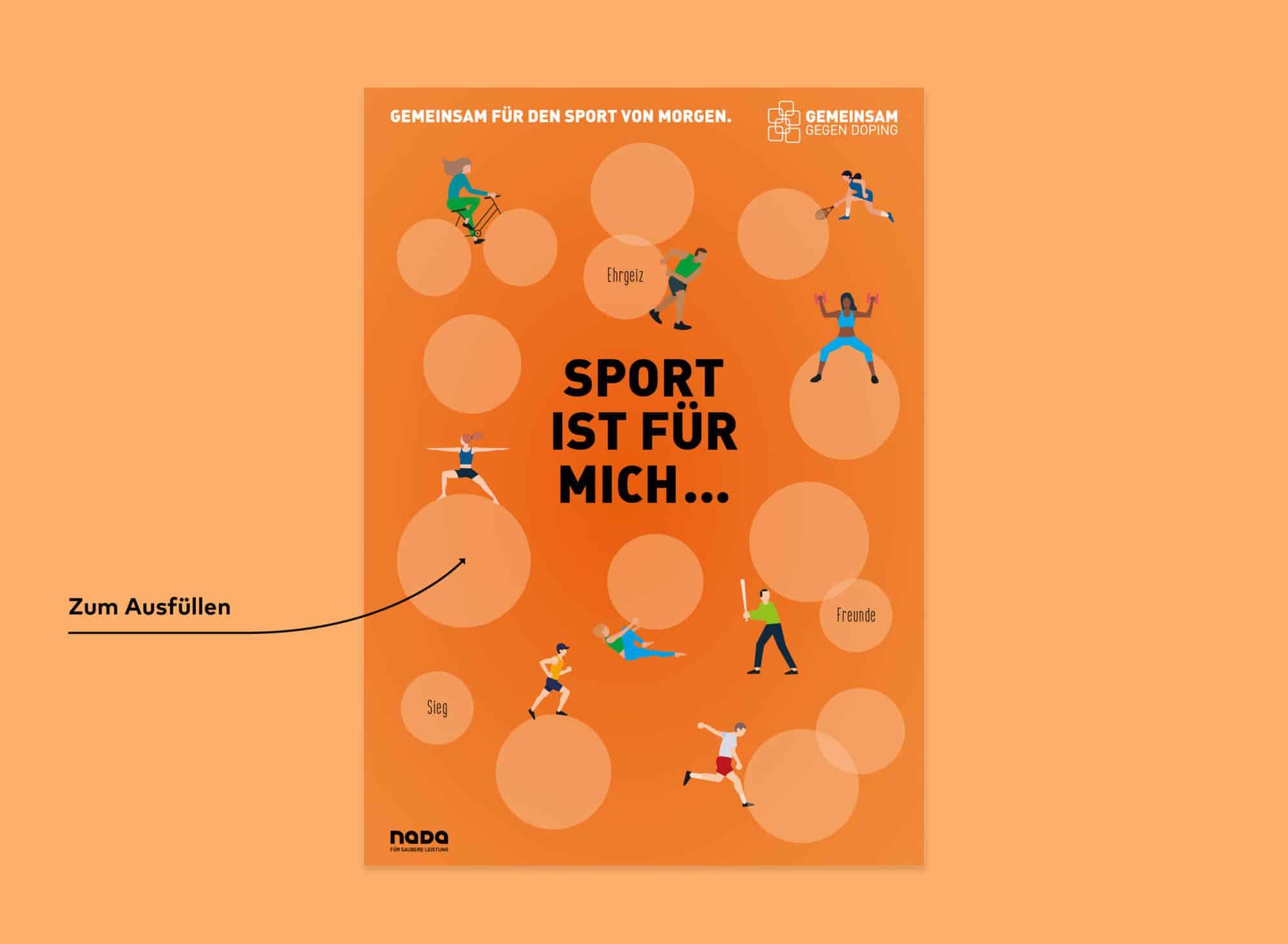 Nada Broschüre Printdesign