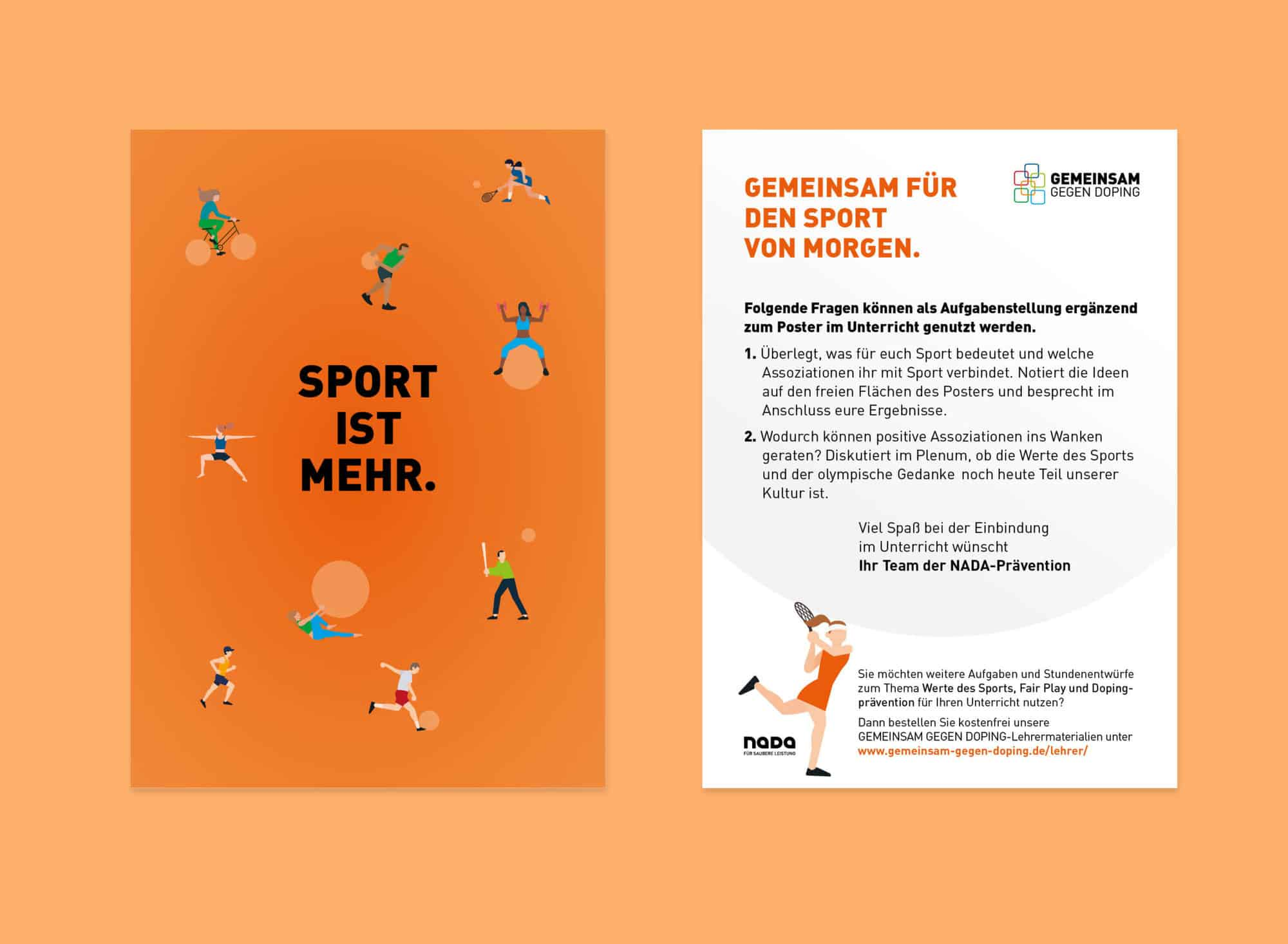 Nada Broschüre Editorial Printdesign