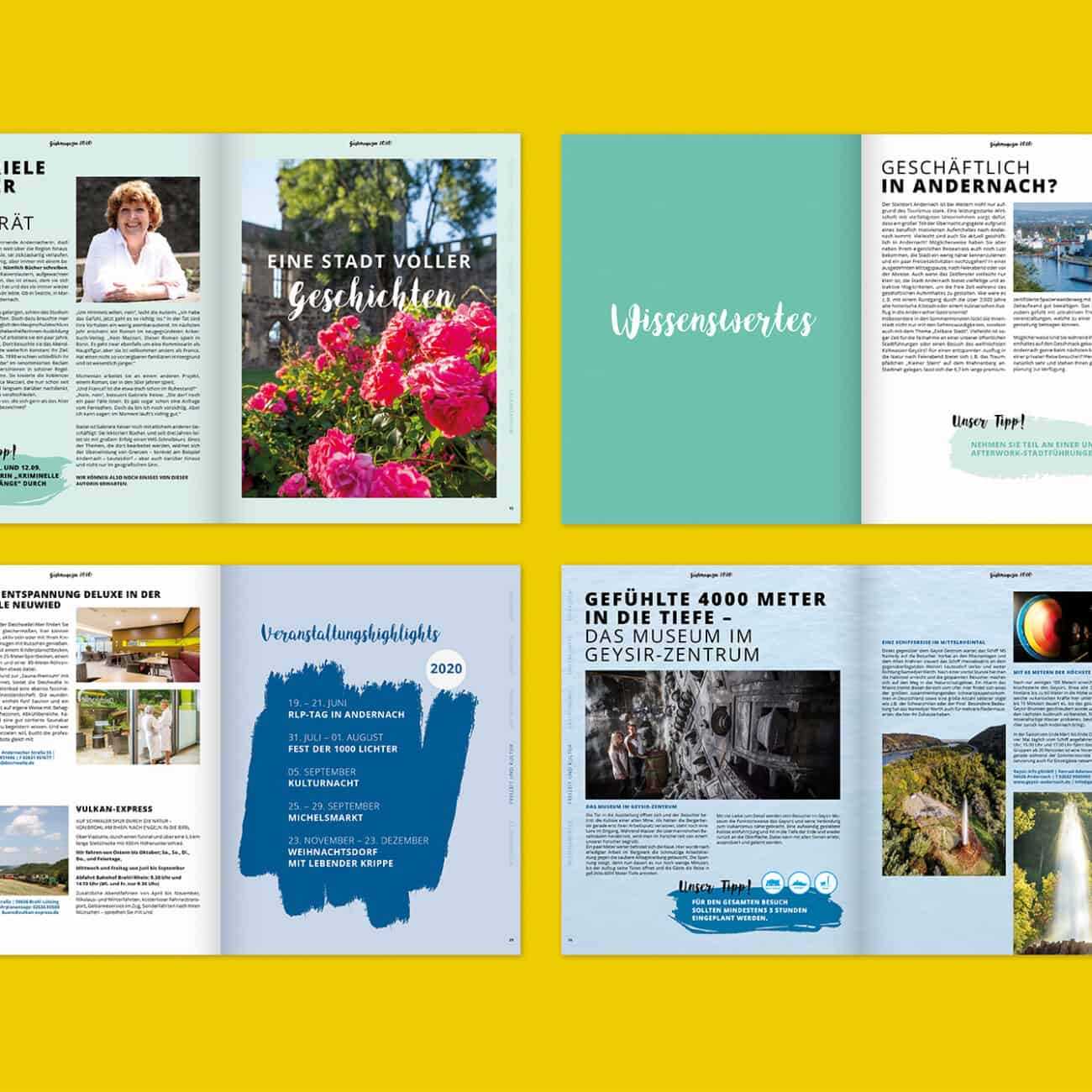 Andernach Gästemagazin